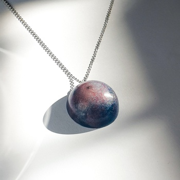 Galaxy necklace's image