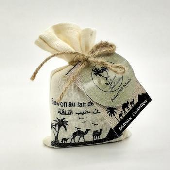 Savon au lait de chamelle bio, savon artisanal naturel fait main par Bédouine Cosmétiques, handmade soap, صابون طبيعي بحليب الناقة صناعة حرفية يدوية's image