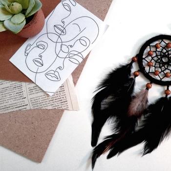 Black dreamcatcher's image