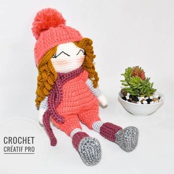 Poupée en crochet (Loulou)'s image