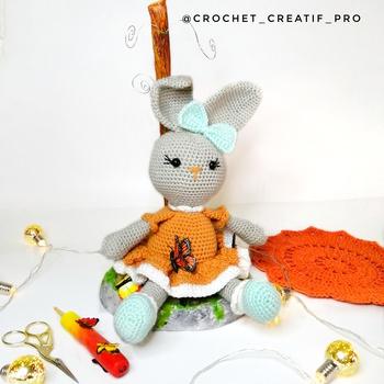 Lapin en crochet's image