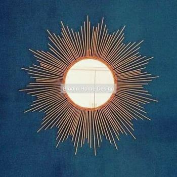 Sun mirror's image