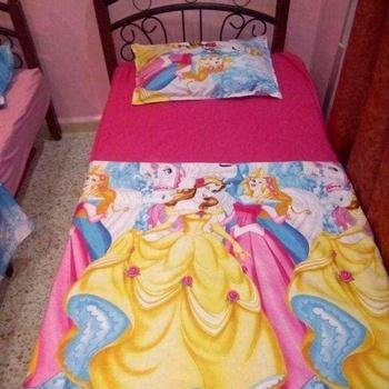Parure de draps pour enfant une place et demie contenant Draps housse, Draps plat, taie d'oreillers's image