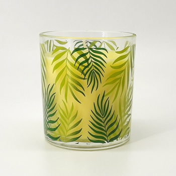 Bougie parfumée en verrine senteur citron,  bougie artisanale fait main par Belle bougie  شمعة معطرة برائحة الليمون  صناعة حرفية يدوية's image