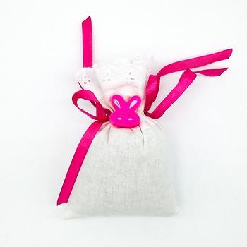 Bourse décoratifs pour bébé thème Lapin senteur lavande fait main Les Senteurs de Lyne كيس معطر للاطفال صناعة حرفية يدوية's image