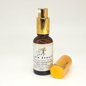 Elixir de beauté formulé à base des huiles essentielles et des huiles végétales pour la  peau sèches (30ml) fait main par L Soap, صناعة حرفية يدوية's image