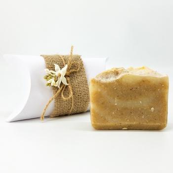 Savon d'aloe vera bio, savon artisanal naturel fait main par Magnolia Pearl, handmade soap, صابون طبيعي بالالوفيرا صناعة حرفية يدوية's image