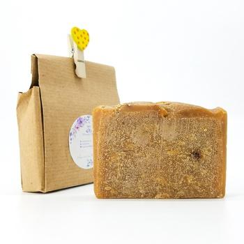 Savon de Soufre artisanal naturel bio fait main par Magnolia pearl, handmade soap, صابون طبيعي بالكبريت صناعة حرفية يدوية's image