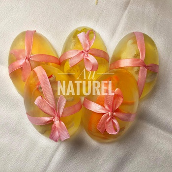 Savon naturel parfumé pour enfant صابون غليسرين طبيعي 100% بعطر الورد للاطفال's image